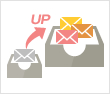 メールボックス容量拡張 イメージ